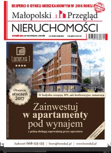 Małopolski Przegląd Nieruchomości - miesięcznik - prenumerata kwartalna już od 6,90 zł